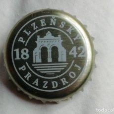 Coleccionismo de cervezas: CHAPA TAPÓN CORONA DE LA CERVEZA PLZENSKY PRAZDROJ. VER DESCRIPCIÓN.. Lote 246168255