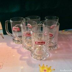 Coleccionismo de cervezas: JARRAS DE CERVEZA MAHOU CINCO ESTRELLAS.. Lote 246191195