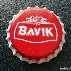 Coleccionismo de cervezas: CHAPA TAPÓN CORONA NUEVO DE LA CERVEZA BELGA BAVIK. VER DESCRIPCIÓN.. Lote 247416760