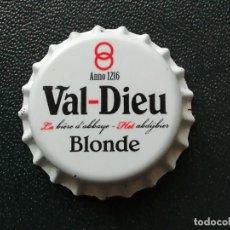 Coleccionismo de cervezas: CHAPA TAPÓN CORONA NUEVO DE LA CERVEZA BELGA VAL-DIEU BLONDE. VER DESCRIPCIÓN.. Lote 247416910