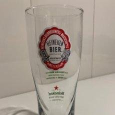 Coleccionismo de cervezas: HEINEKEN VASO CRISTAL. Lote 247498295