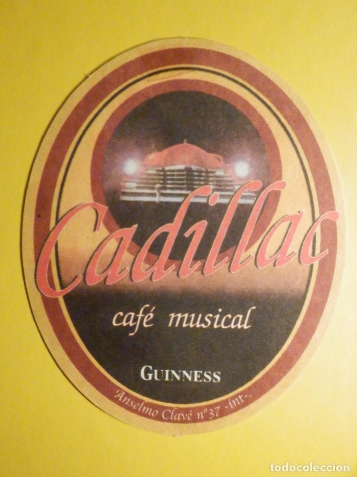 Coleccionismo de cervezas: POSAVASOS CERVEZAS Guinness - PERSONALIZADO Café TNT Rock - San Antonio María Claret, Zaragoza - Foto 2 - 248111700