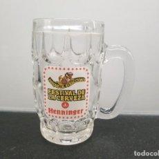 Coleccionismo de cervezas: JARRA DE EL PARQUE DE ATRACCIONES - FESTIVAL DE LA CERVEZA - JENNIFER (ENVÍO 2,50€). Lote 248369710