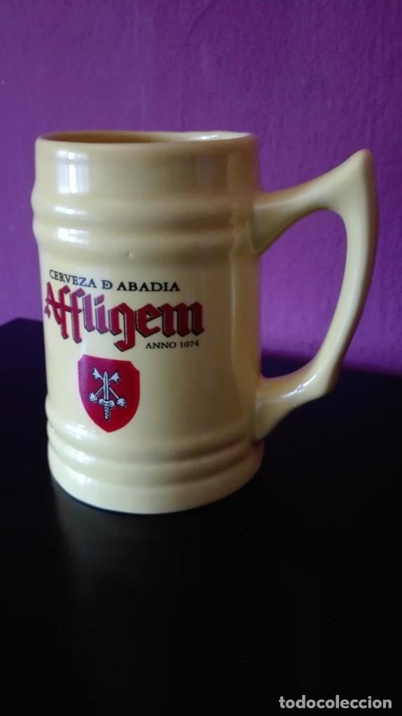 Coleccionismo de cervezas: JARRA CERVEZA AFFLIGEM - Foto 2 - 251377475