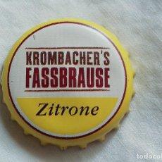 Collezionismo di birre: CHAPA TAPÓN CORONA DE LA CERVEZA ALEMANA KROMBACHER'S FASSBRAUSE ZITRONE. VER DESCRIPCIÓN.. Lote 251299445
