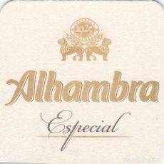 Coleccionismo de cervezas: POSAVASOS DE LA CERVEZA ALHAMBRA. Lote 251645510