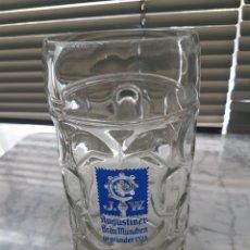 Coleccionismo de cervezas: JARRA DE CERVEZA AUGUSTINER BRÄU MÜNCHEN OCTOBER FEST. Lote 251835660