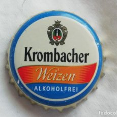 Collezionismo di birre: CHAPA TAPÓN CORONA DE LA CERVEZA ALEMANA KROMBACHER WEIZEN ALKOHOLFREI. VER DESCRIPCIÓN.. Lote 252515885