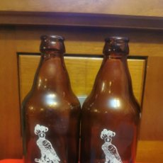 Coleccionismo de cervezas: PAREJA DE TERCIOS DEL AZOR SIN RECUARDO. Lote 253339340