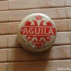 Coleccionismo de cervezas: TAPÓN DE ROSCA METÁLICO DE BOTELLA DE CERVEZA EL AGUILA. Lote 253467775