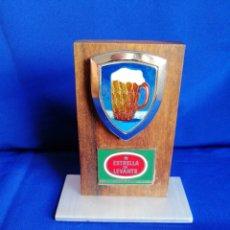 Coleccionismo de cervezas: CERVEZA ESTRELLA LEVANTE METOPA CON JARRA DE CERVEZA CON NUMERO DE SERIE. Lote 254153265