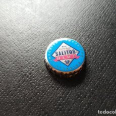 Coleccionismo de cervezas: CHAPA CERVEZA SALITOS BLUE (RRK). Lote 254444870