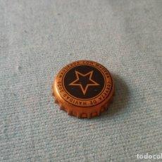 Coleccionismo de cervezas: CHAPA CERVEZA ESTRELLA LEVANTE NAVIDAD (U). Lote 254445040