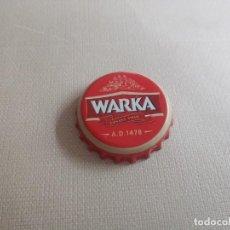 Coleccionismo de cervezas: CHAPA CERVEZA WARKA 1 (DAP). Lote 254761320