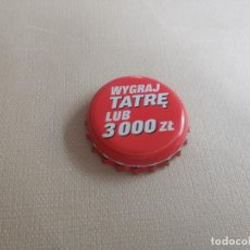 Coleccionismo de cervezas: CHAPA CERVEZA TATRA PROMO 1 (RRK). Lote 254761465