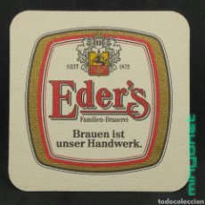 Coleccionismo de cervezas: POSAVASOS DE CERVEZA EDER'S. Lote 254883245