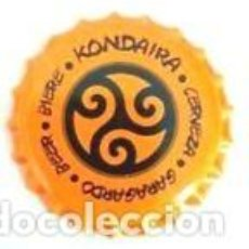 Coleccionismo de cervezas: CHAPA CERVEZA ARTESANA KONDAIRA - ESPAÑA. Lote 254887560