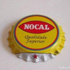 Coleccionismo de cervezas: CHAPA CERVEZA NOCAL DE ANGOLA (SIN USAR). Lote 255390870