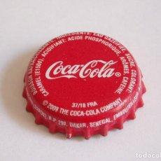 Coleccionismo de cervezas: CHAPA COCA-COLA DE SENEGAL. Lote 255390965