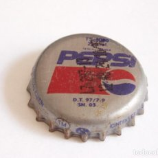 Coleccionismo de cervezas: CHAPA PEPSI DE TURQUIA. Lote 255391280