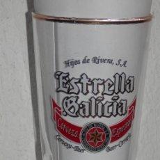 Coleccionismo de cervezas: VASO VINTAGE DE LA CERVEZA ESTRELLA GALICIA. Lote 255552695