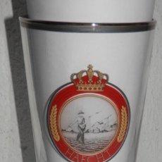 Coleccionismo de cervezas: VASO VINTAGE DE LA CERVEZA HAECHT. Lote 255558675