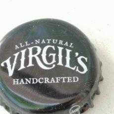 Coleccionismo de cervezas: CHAPA BOTTLE CAP BIERE BEER CERVEZA VIRGIL'S .REINO UNIDO.FAB. CHAPA:DAP---LOTE N. 949---CARMANJO. Lote 255562145