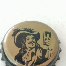 Coleccionismo de cervezas: CHAPA BOTTLE CAP BIERE BEER CERVEZA MC,EVANS.REINO UNIDO.FAB. CHAPA:DAP---LOTE N.1629---CARMANJO. Lote 255562520