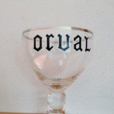 Coleccionismo de cervezas: ORVAL BELGIUM BEER CUP TRAPISTE COPA CERVEZA. Lote 257271095