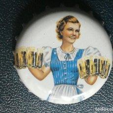 Coleccionismo de cervezas: CHAPA TAPÓN CORONA DE LA CERVEZA ALEMANA MARIE HAUSBRENDEL SCHWARZBRÄU. Lote 257432755