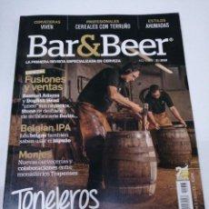 Coleccionismo de cervezas: REVISTA CERVEZA BAR & BEER N° 43 LÚPULO AÑO 2019. Lote 257454210