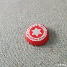 Coleccionismo de cervezas: CHAPA CERVEZA ESTRELLA GALICIA NAVIDAD (NEWBOX). Lote 278944598