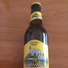 Coleccionismo de cervezas: BOTELLA DE CERVEZA YELLOW CAB 330 CL. SIN ABRIR. VALENCIA. Lote 262590450