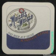 Coleccionismo de cervezas: POSAVASOS DE CERVEZA MAISEL'S WEISSE. Lote 262827520