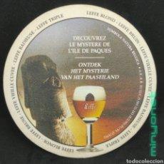 Coleccionismo de cervezas: POSAVASOS DE CERVEZA LEFFE. Lote 262827900