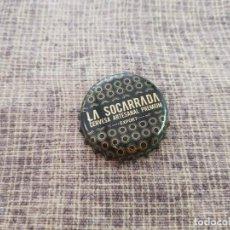 Coleccionismo de cervezas: CHAPA CERVEZA LA SOCARRADA (U). Lote 289520833