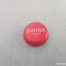 Coleccionismo de cervezas: CHAPA CERVEZA DAMM DAURA 2 (U). Lote 278943793