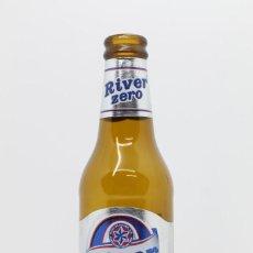 Collectionnisme de bières: BOTELLA CERVEZA VACÍA ESTRELLA GALICIA RIVER ZERO 25 CL ESPAÑA BEER BIRRA BIER. Lote 263579650