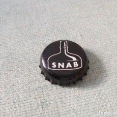 Coleccionismo de cervezas: CHAPA CERVEZA SNAB (U). Lote 289522118