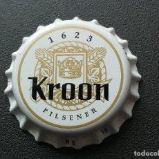 Coleccionismo de cervezas: CHAPA TAPÓN CORONA NUEVO DE LA CERVEZA DE PAÍSES BAJOS KROON PILSENER. VER DESCRIPCIÓN.. Lote 265984493