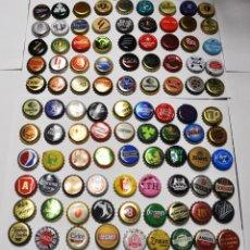 Coleccionismo de cervezas: LOTE 100 CHAPAS DE CERVEZA UCRANIA.POLONIA .... Lote 268161579