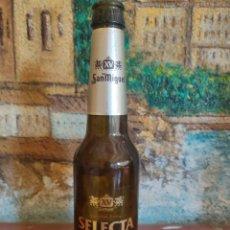 Coleccionismo de cervezas: BOTELLA CERVEZA SAN MIGUEL SELECTA XV AÑO 2008. Lote 268274179