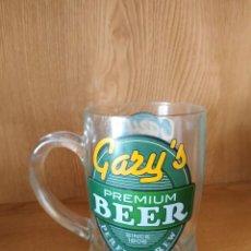 Coleccionismo de cervezas: GARY´S PREMIUM BEER JARRA. Lote 269088223