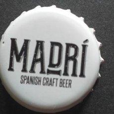 Coleccionismo de cervezas: CERVEZA-PENN-III-CHAPA-TAPON-CORONA-MADRI. Lote 269320573