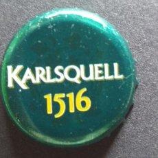 Coleccionismo de cervezas: CERVEZA-PENN-III-CHAPA-TAPON-CORONA-KARLSQUELL 1516. Lote 269320788