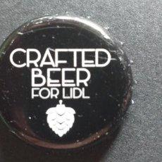 Coleccionismo de cervezas: CERVEZA-PENN-III-CHAPA-TAPON-CORONA-CRAFTED. Lote 269320948