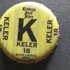Coleccionismo de cervezas: CERVEZA-PENN-III-CHAPA-TAPON-CORONA-KELER. Lote 269321123