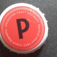 Coleccionismo de cervezas: CERVEZA-PENN-III-CHAPA-TAPON-CORONA-PRIMATOR. Lote 269321153