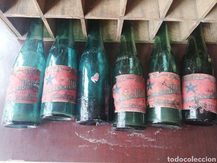 Coleccionismo de cervezas: Caja completa Sociedad Anonima Damm, Estilo Pilsen, original - Foto 9 - 270230663