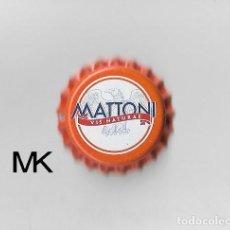Coleccionismo de cervezas: TAPON CORONA CHAPA BOTTLE CAP KRONKORKEN TAPPI CAPSULE MATTONI - R.CHECA. Lote 270944623